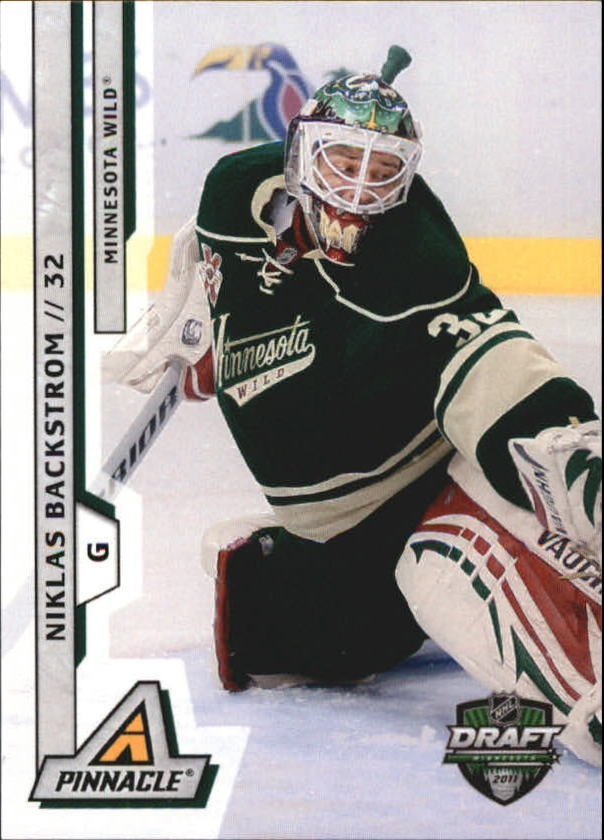 2011 Pinnacle NHL Draft Minnesota #3 Niklas Backstrom