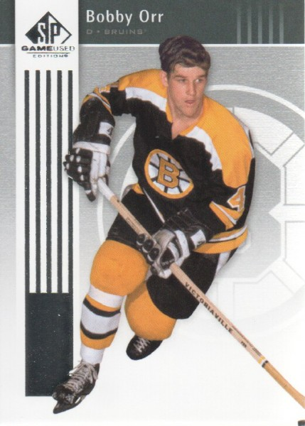 2011-12 SP Game Used #10 Bobby Orr