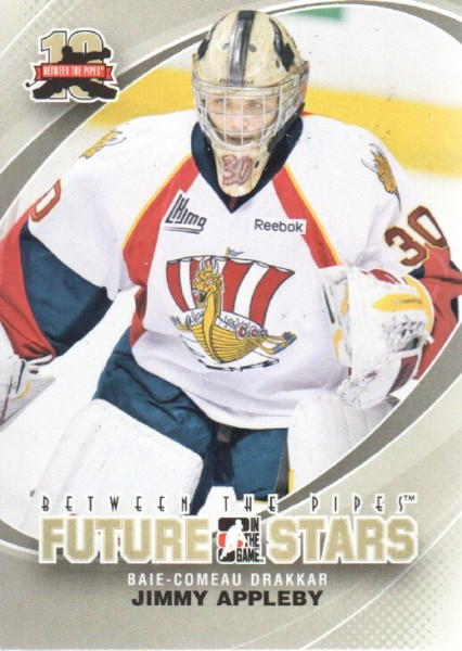 2011-12 Between The Pipes #1 Jimmy Appleby