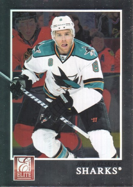 2011-12 Elite #14 Joe Pavelski