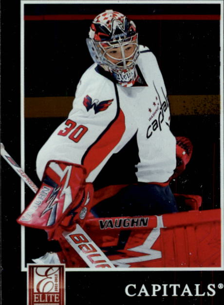 2011-12 Elite #16 Michal Neuvirth