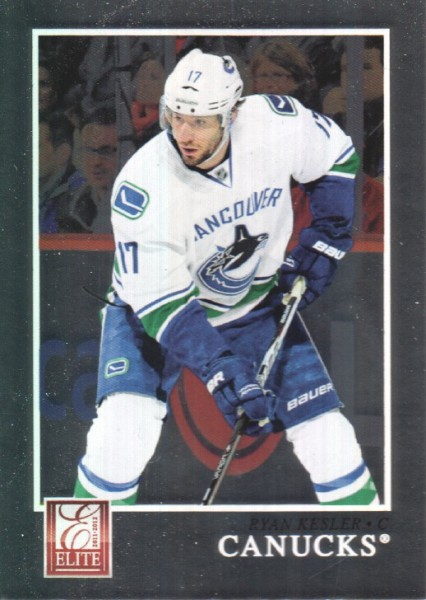 2011-12 Elite #18 Ryan Kesler