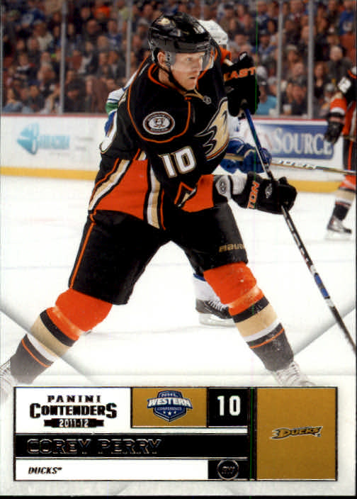 2011-12 Panini Contenders #10 Corey Perry
