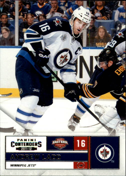 2011-12 Panini Contenders #16 Andrew Ladd