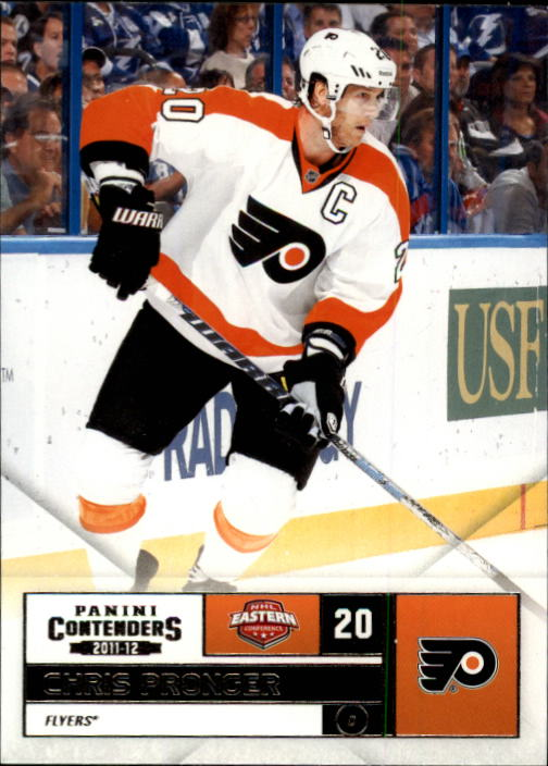 2011-12 Panini Contenders #20 Chris Pronger