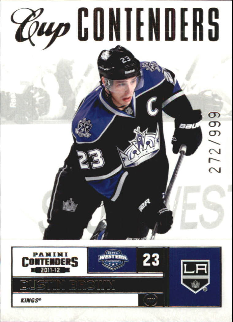 2011-12 Panini Contenders #114 Dustin Brown CC