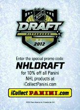 2012 Pinnacle NHL Draft Pittsburgh #NNO Checklist