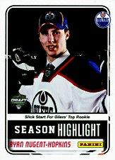 2012 Panini NHL Draft #RNH Ryan Nugent-Hopkins