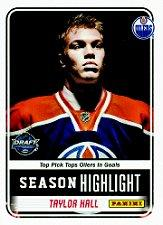 2012 Panini NHL Draft #TH Taylor Hall