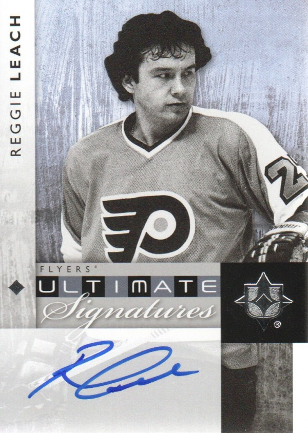 2011-12 Ultimate Collection Ultimate Signatures #USRL Reggie Leach E