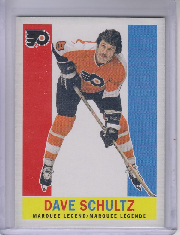 2012-13 O-Pee-Chee Retro Blank Backs #538 Dave Schultz