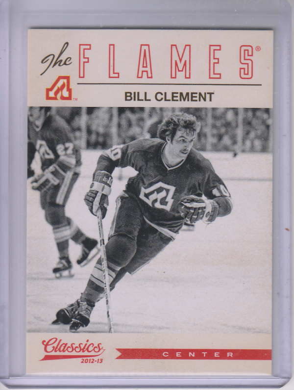 2012-13 Classics Signatures #123 Bill Clement