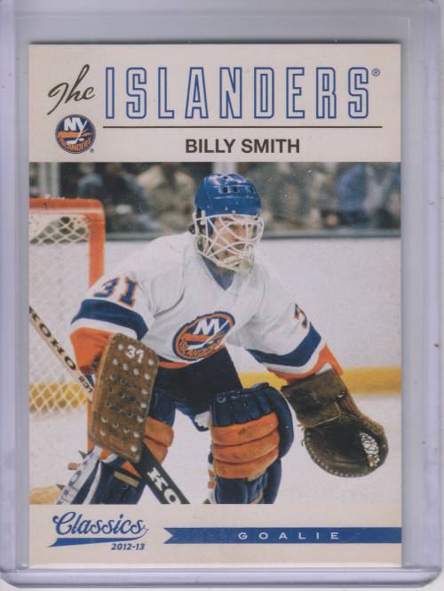 2012-13 Classics Signatures #135 Billy Smith