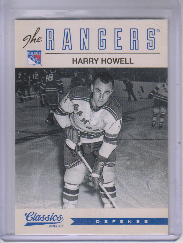 2012-13 Classics Signatures #144 Harry Howell
