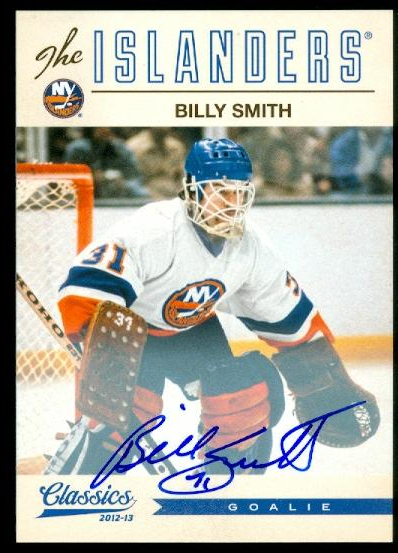 2012-13 Classics Signatures Autographs #135 Billy Smith
