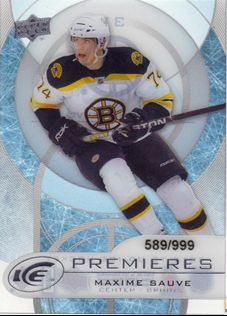 2012-13 Upper Deck Ice #31 Maxime Sauve/999 RC