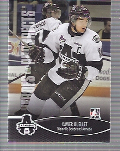 2012-13 ITG Heroes and Prospects #91 Xavier Ouellet QMJHL