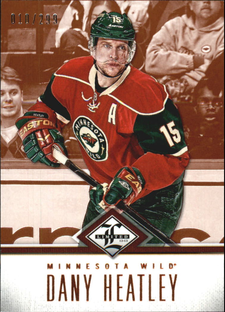 2012-13 Limited #143 Dany Heatley