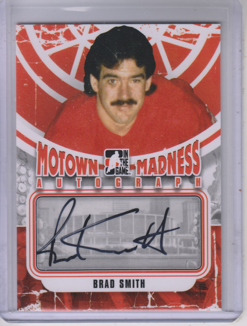 2012-13 ITG Motown Madness Autographs #ABS Brad Smith