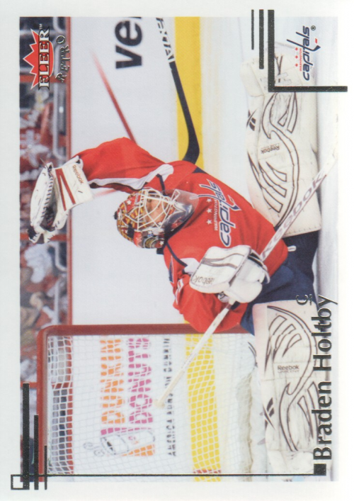 2012-13 Fleer Retro #5 Braden Holtby