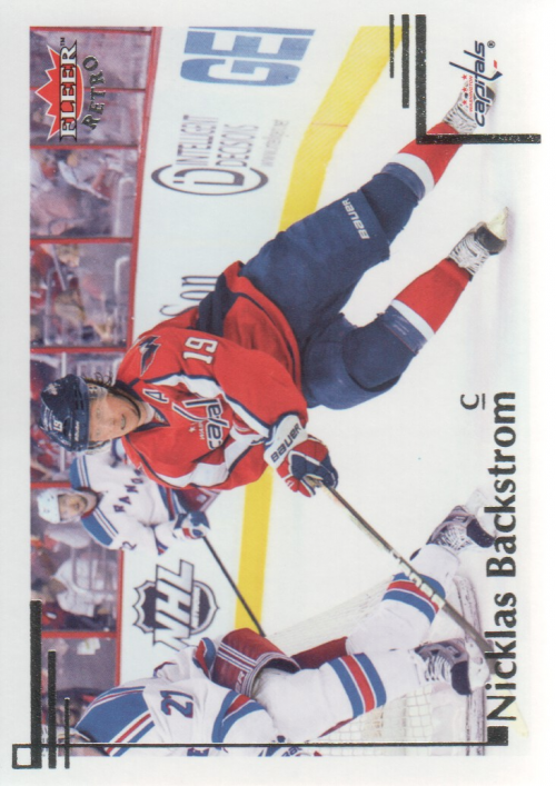 2012-13 Fleer Retro #6 Nicklas Backstrom