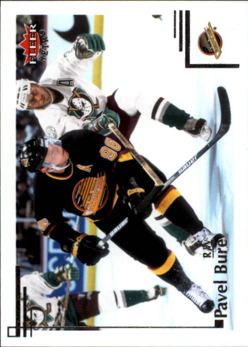 2012-13 Fleer Retro #7 Pavel Bure