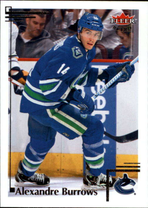 2012-13 Fleer Retro #8 Alexandre Burrows