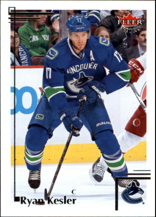 2012-13 Fleer Retro #10 Ryan Kesler