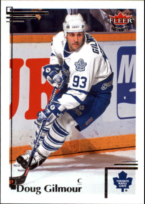 2012-13 Fleer Retro #12 Doug Gilmour