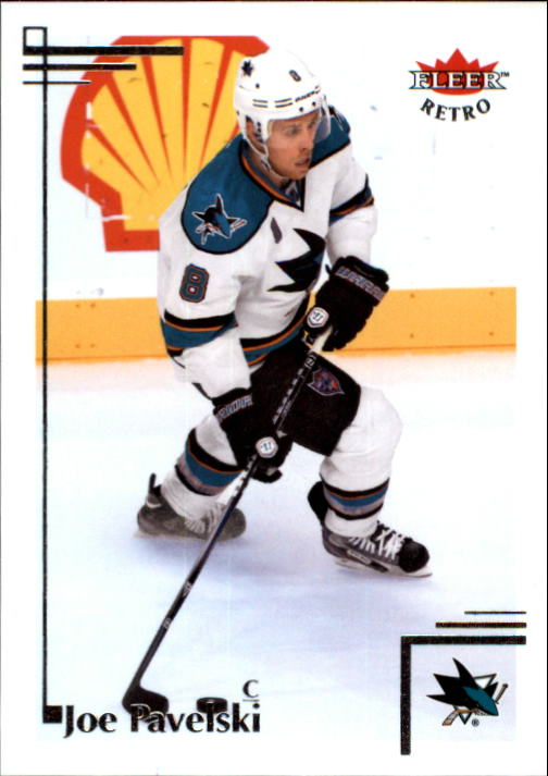2012-13 Fleer Retro #22 Joe Pavelski