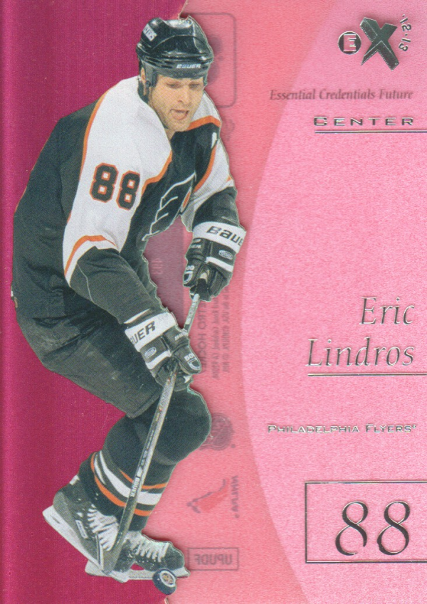 2012-13 Fleer Retro E-X 2001 Essential Credentials Future #8 Eric Lindros/35