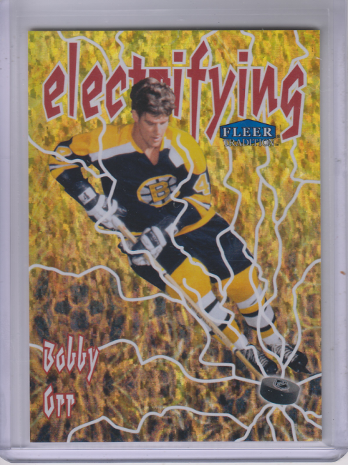 2012-13 Fleer Retro Tradition Electrifying #1 Bobby Orr
