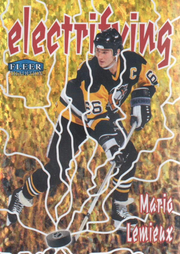 2012-13 Fleer Retro Tradition Electrifying #11 Mario Lemieux