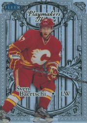 2012-13 Fleer Retro Playmaker's Theatre #3 Sven Baertschi