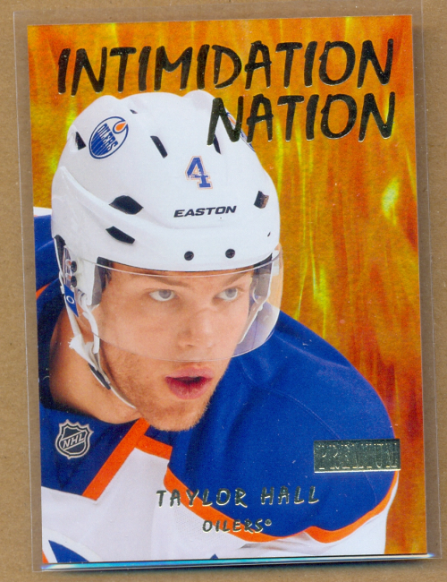 2012-13 Fleer Retro Premium Intimidation Nation #17IN Taylor Hall