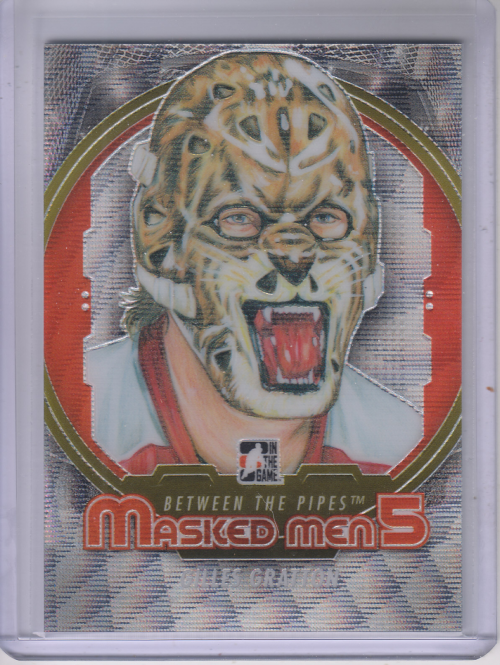 2012-13 Between The Pipes Masked Men V Silver #MM14 Gilles Gratton