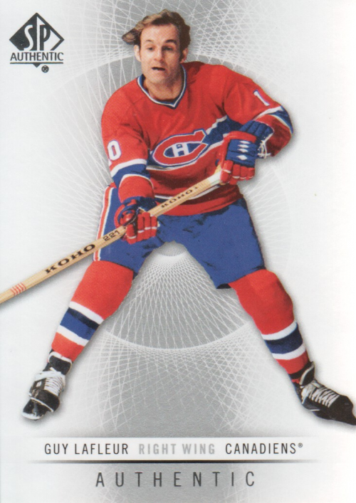 2012-13 SP Authentic #72 Guy Lafleur