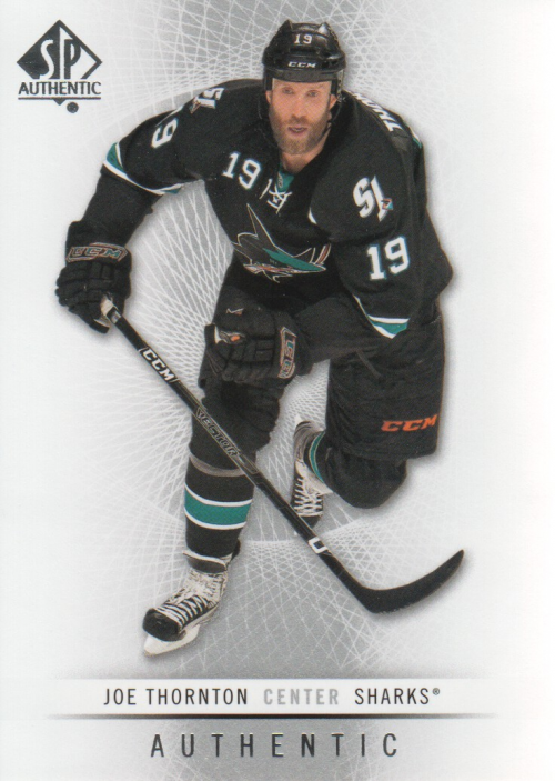2012-13 SP Authentic #83 Joe Thornton
