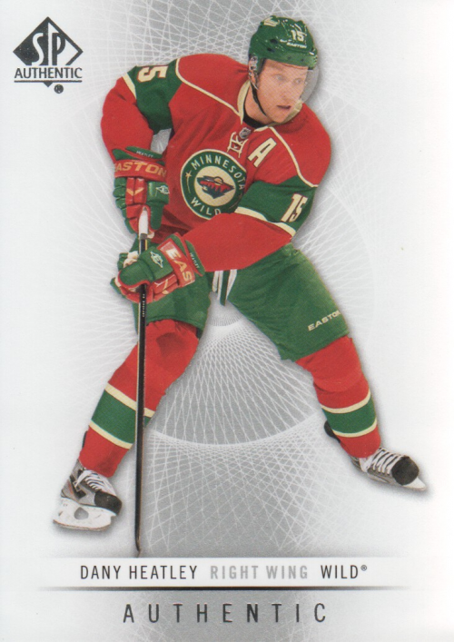 2012-13 SP Authentic #93 Dany Heatley