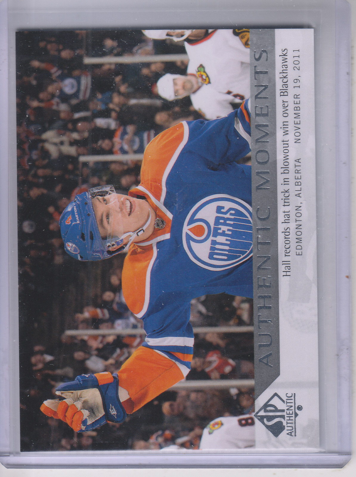 2012-13 SP Authentic #160 Taylor Hall AM