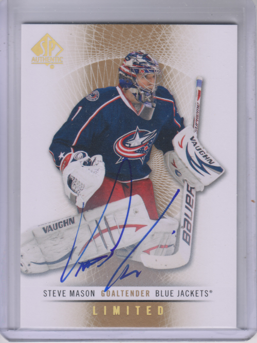 2012-13 SP Authentic Limited Autographs #68 Steve Mason C