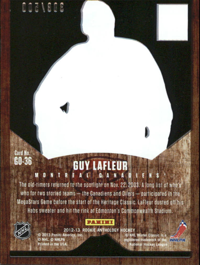 2012-13 Elite The Great Outdoors #36 Guy Lafleur