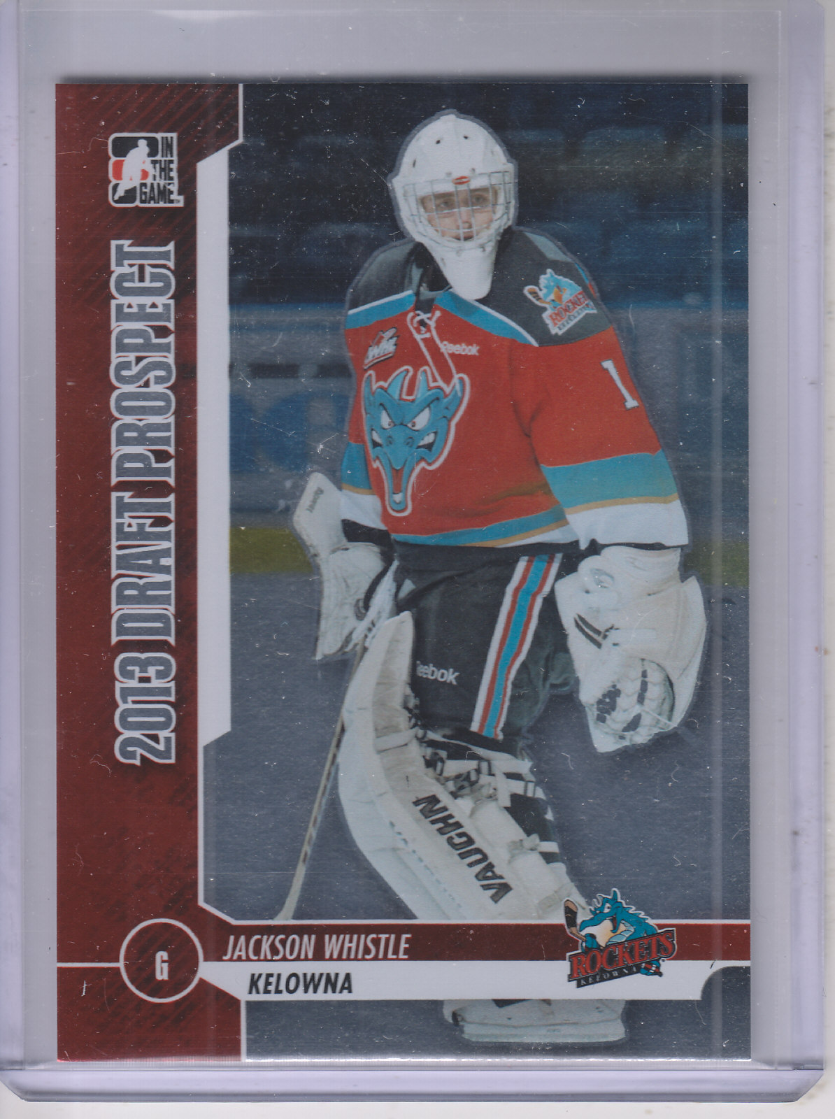2012-13 ITG Draft Prospects #17 Jackson Whistle