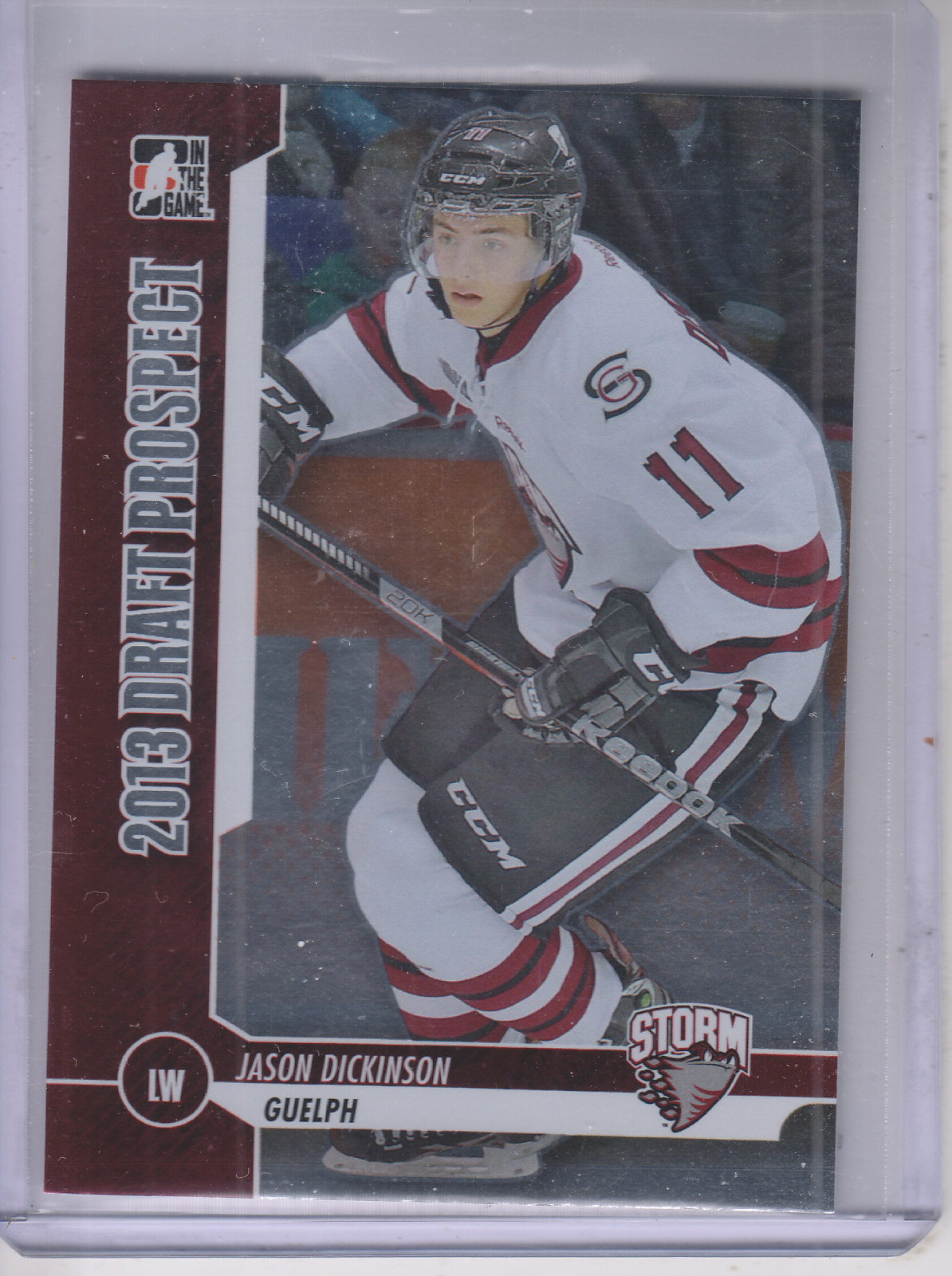 2012-13 ITG Draft Prospects #19 Jason Dickinson