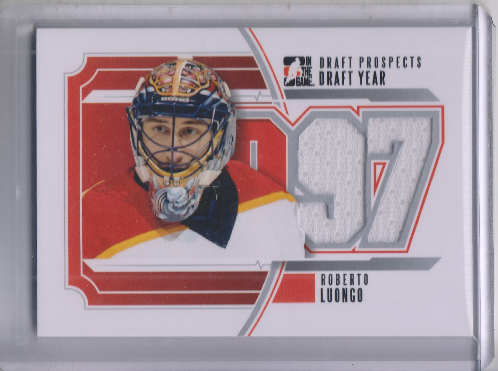 2012-13 ITG Draft Prospects Draft Year Jerseys #DY24 Roberto Luongo