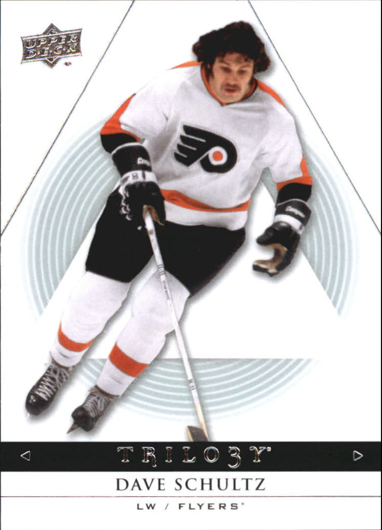 2013-14 Upper Deck Trilogy #75 Dave Schultz