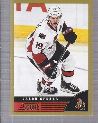 2013-14 Score Gold #347 Jason Spezza