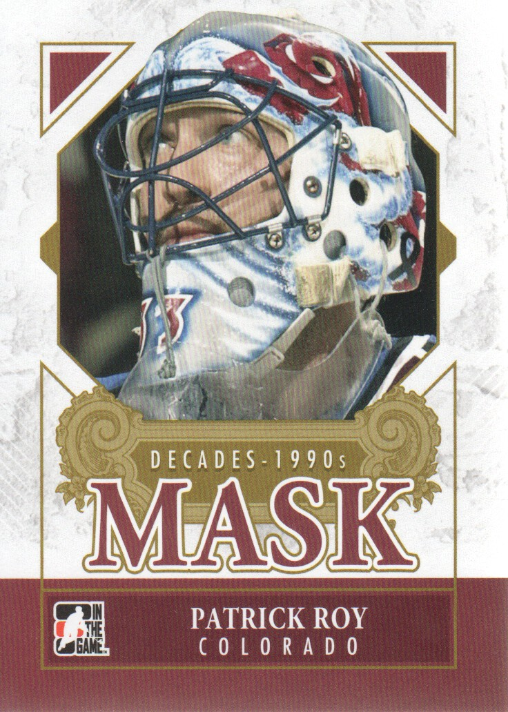2013-14 ITG Decades 1990s Masks #DM18 Patrick Roy