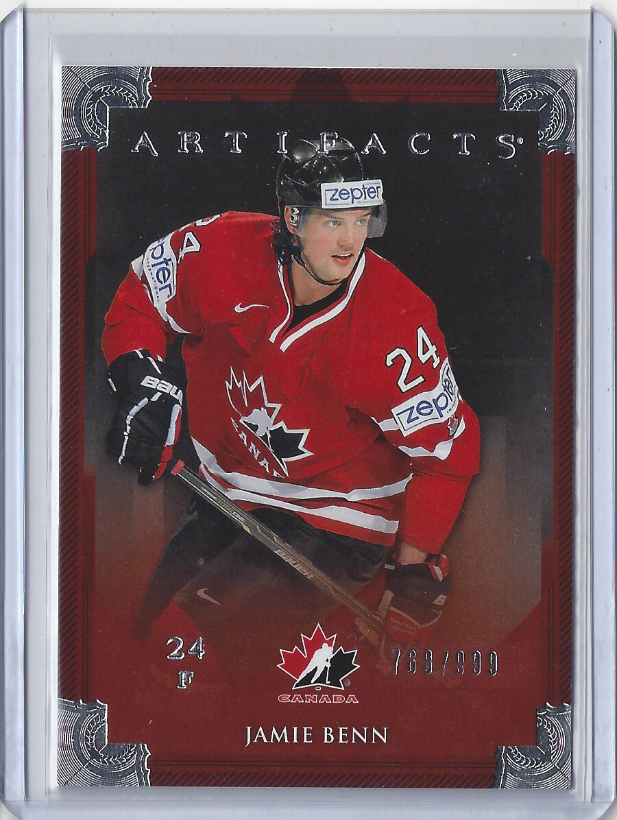 2013-14 Artifacts #138 Jamie Benn TC