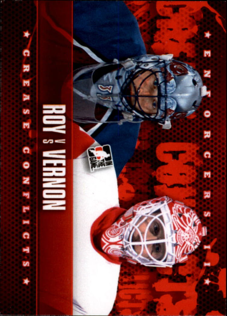 2013-14 ITG Enforcers #96 Patrick Roy/Mike Vernon CC